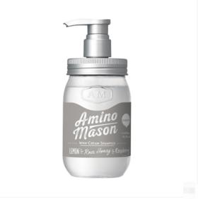 日本氨基研AMINOMASON氨基酸无硅油洗发水清爽型 450ml