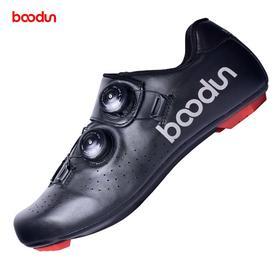 boodun公路自行车骑行锁鞋 透气真皮款 J001292