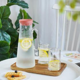 摩登主妇家用玻璃凉水壶耐高温大容量水壶北欧风水杯装水壶冷水壶