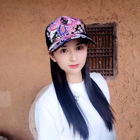 QYSM-MZ0129新款复古民族风刺绣鸭舌棒球帽TZF