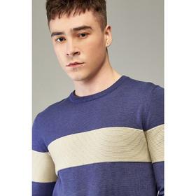 男装春季新款男士圆领套头长袖外套休闲毛衣针织衫2128