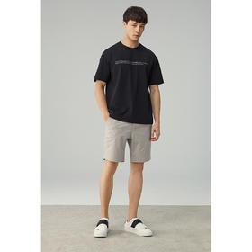 男装夏季新款圆领字母印花短袖t恤男士休闲体恤衫7351