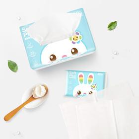 兔头妈妈 鼻子纸软包3层*120抽*6包
