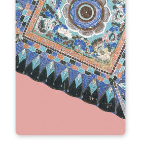 【千年敦煌之美 研究院联名款】敦煌壁画系列 麂皮绒瑜伽垫