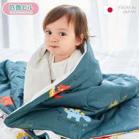 日本匹鲁婴儿0-16岁被子纯棉四季通用儿童空调被夏凉被幼儿园宝宝薄被子