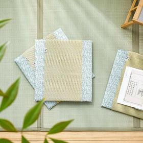 池彦蔺草坐垫,日本百年品牌,吸湿透气,凉而不冰