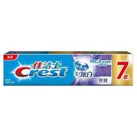 佳洁士3D炫白双效牙膏180g优惠装
