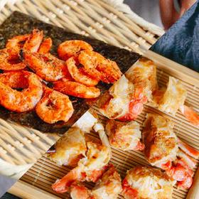[脆虾脆蟹组合]原味脆蟹40g*2盒+海苔脆虾26g*3盒