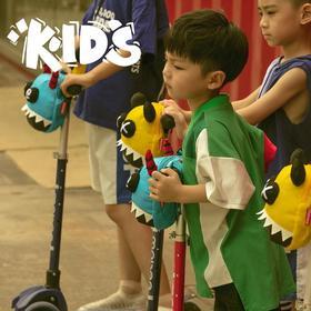 mobee儿童滑板车3-6-12岁幼儿小男孩女孩宝宝踏板滑滑溜溜车