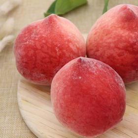 【夏日优选】陕西水蜜桃 个大饱满 鲜嫩多汁 净重4.5-5斤装现摘现发