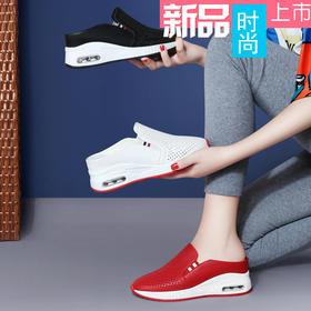 MLKL9650新款时尚内增高厚底凉拖鞋TZF