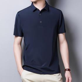 CN-J595新款2020夏季纯色桑蚕丝短袖T恤TZF