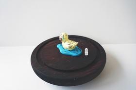 艺术衍生品  惶恐鸭 李诗cisilee 5.5x1x3.5cm