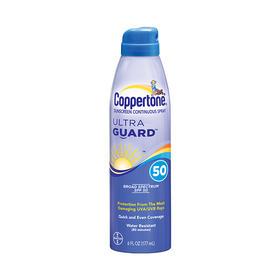 【京东】确美同(Coppertone)水宝宝透薄清新防晒喷雾 177ml SPF50 (清爽保湿 防水防汗 隔离紫外线 PA+++)【个护清洁】
