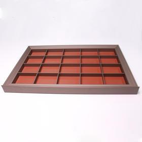 501011  蔷薇系列皮革高档阻尼首饰盒(联系客服享受专属价格)