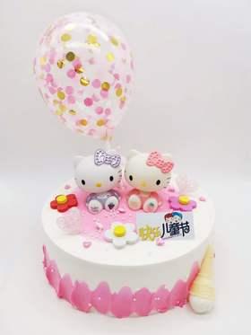 Hello Kitty 蛋糕