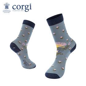 英国CORGI·儿童款轻棉花香系列春夏时尚长筒高筒袜子