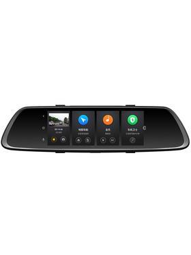 360行车记录仪免安装无线前后双录高清夜视倒车影像流媒体后视镜S600