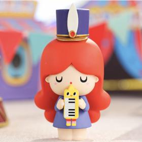 正版 POPMART泡泡玛特密语娃娃马戏团系列 可爱潮玩盲盒手办收藏(12个)