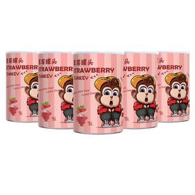 那只猴 草莓罐头410g