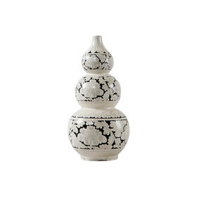 白釉葫芦瓶