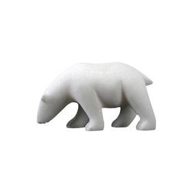 汉白玉北极熊