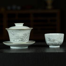 雅市·雪景茶器套组