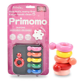 Primomo 儿童蜡笔(3岁以上)6色
