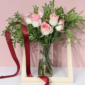 【云南 • 四季鲜花玫瑰花混搭】多色玫瑰可选 搭配时令花材 送人送己 每一束花都诉说着真诚的祝福  基地直发 精美包装 到手新鲜如初