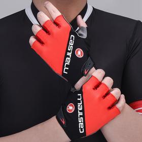 蝎子Castelli夏季骑行半指手套