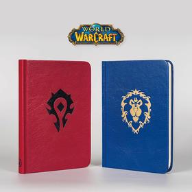 《魔兽世界》主题手札笔记本部落 联盟款 暴雪游戏正版周边