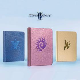 《星际争霸》主题手札笔记本人类 异虫 星灵款 暴雪游戏正版周边
