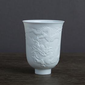 浮雕九龙杯 单杯