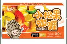 古松小松果咖喱原味调料100g
