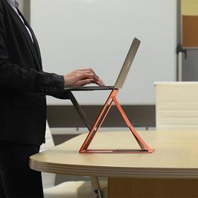 【宇宙爆款&站/坐两用】MOFTZ多角度笔记本电脑支架|多角度折叠|轻薄隐形|便携易收纳