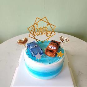 卡通汽车🚗蛋糕