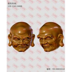 YD-HW10114 罗汉珠 立体圆雕图纸