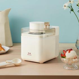 现货速发【自制轻卡 甜无腹担】日本bruno冰淇淋机 恒温保冷6小时 两档模式  安全耐用 易清洗