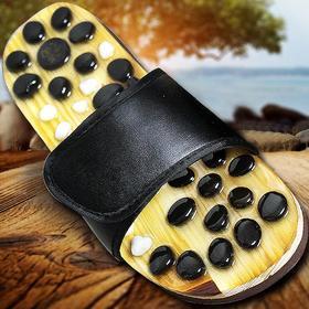 [优选]磁石按摩拖鞋 足底穴位按摩 防滑