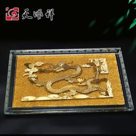 龙凤款水晶棺床