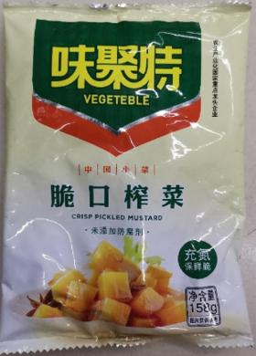 味聚特脆口榨菜158g