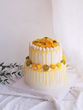 芒里偷闲—鲜果双层蛋糕