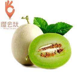 【整果】绿肉玉菇蜜瓜 精选大果一个约2斤
