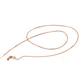 18k金玫瑰金万能链—肖邦针链