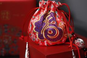 端午节四季平安刺绣香囊