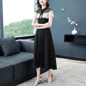 【寒冰紫雨】  女神范裙子2020年新款夏天 休闲职业装保险业务员夏季女装裙子   CCCYQ0709