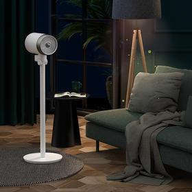 德国CIH引擎管式空气循环扇家用落地立式电风扇涡轮对流静音