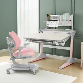 优沃儿童学生学习桌椅 可升降小学生学习桌组合套装现代简约书桌