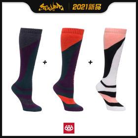 686 2021新品预售 Strike Sock 女款 滑雪袜