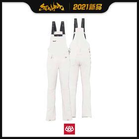 686 2021新品预售 Gossip Softshell Bib 女款 背带裤